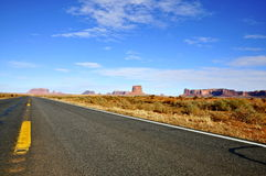 Monument Valley from the Highway Royalty Free Stock Images