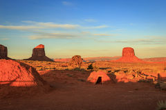 Monument Valley hogum Stock Images