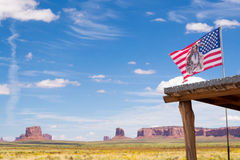 Monument Valley. This is monument valley. Homeland of Indians. Tribals of America Stock Images