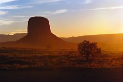 Monument Valley, horisontal Stock Images