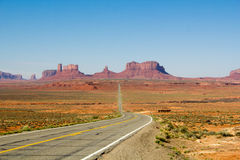 Monument Valley Horizon Stock Photography
