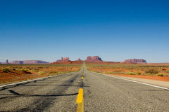 Monument Valley Horizon Royalty Free Stock Photography