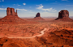 Monument Valley II Royalty Free Stock Images