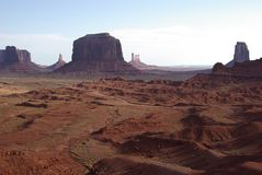 Monument Valley from John Ford\'s Point Stock Photography