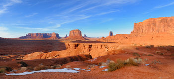 Monument Valley (John Ford's Point) panoramic Stock Image