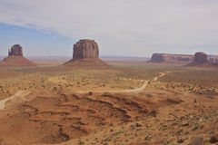 Monument Valley Landscape Royalty Free Stock Photography