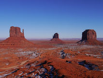 Monument Valley. Landscape of the Monument Valley Royalty Free Stock Image