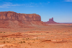 Monument Valley Landscape Royalty Free Stock Photos