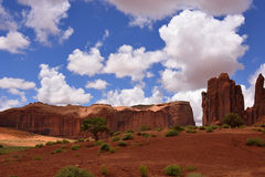 Monument Valley landscape Stock Photos