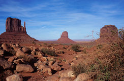 Monument valley landscape in USA Stock Images