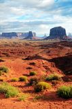 Monument valley landscape, USA Royalty Free Stock Image