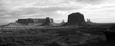 Monument valley landscape, USA. Monument valley scenic view, landscape at morning, USA Stock Images