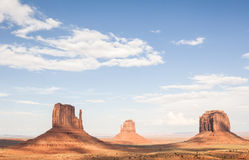 Monument valley landscape USA western Royalty Free Stock Photo