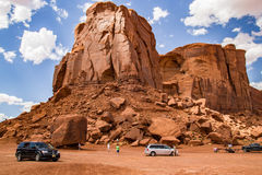 Monument Valley Large Boulders Royalty Free Stock Photography
