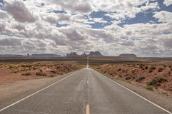 Monument Valley look, desert panorama at Forrest Gump point Stock Photography