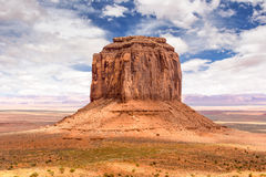 Monument Valley Merrick Butte USA America. Merrick Butte in Monument Valley USA America Royalty Free Stock Images