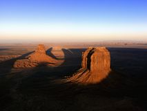 Monument Valley mesa landscape. Stock Photography