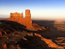 Monument Valley mesa landscape. Stock Photos