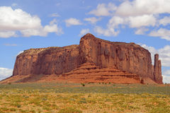 Monument Valley. Mesas and Buttes in Monument Valley, Navajo Country, near the Arizona-Utah border Royalty Free Stock Photos