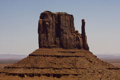 Monument Valley mitten Royalty Free Stock Image