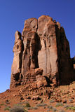 Monument Valley Mitten. One of the 'mittens' (rock formations) that Monument Valley Tribal Park is famous for Royalty Free Stock Image