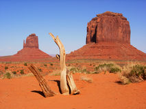Monument Valley - The Mittens Stock Photos