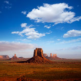 Monument Valley Mittens morning view Utah Stock Image