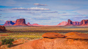 Monument Valley, Mystery Valley , Arizona Stock Image