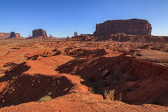 Monument Valley National Park. Amazing Daytime Image of Monument Valley royalty free stock image
