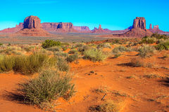 Monument Valley National Park. Amazing Daytime Image of Monument Valley stock photos