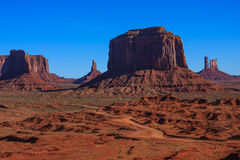 Monument Valley National Park. Amazing Daytime Image of Monument Valley royalty free stock photos