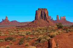 Monument Valley National Park. Amazing Daytime Image of Monument Valley royalty free stock images