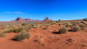 Monument Valley National Park. Amazing Daytime Image of Monument Valley stock photo
