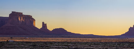 Monument Valley National Park. Amazing Sunrise Image of Monument Valley stock images