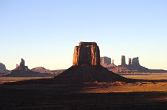 Monument Valley. National Park, within the reservation of the Navajo Indian Nation in Arizona, USA Stock Photos
