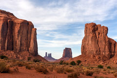 Monument Valley National Park, Utah. View of monumental valley navajo tribal park stock photography