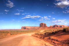 Monument valley, Utah, America Stock Image