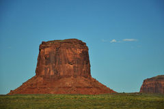 Monument Valley Navajo Indian Tribal Park Approach. Approach to the Monument Valley Navajo Indian Reservation Tribal Park in Arizona and Utah Royalty Free Stock Photo