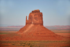 Monument Valley Navajo Indian Tribal Park Panorama Stock Photo