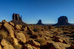 Monument valley, navajo nation Stock Photos