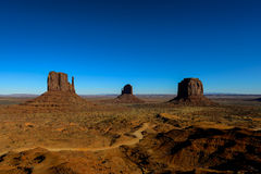 Monument valley, navajo nation Royalty Free Stock Photography