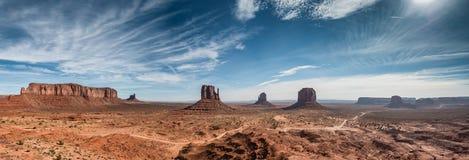 Monument Valley Navajo National Monument in Utah Arizona, Royalty Free Stock Photo