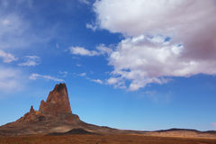 Monument Valley in the Navajo reservation Stock Photography