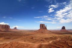 Monument Valley Navajo tribal park Stock Photos