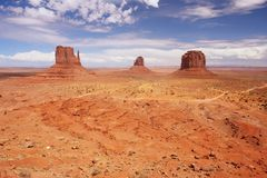Monument Valley. Navajo Tribal Park, Arizona Stock Images