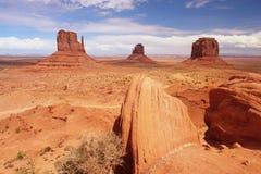 Monument Valley. Navajo Tribal Park, Arizona Stock Image