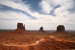 Monument Valley, Navajo Tribal Park, Arizona Stock Image