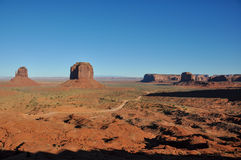 Monument Valley Navajo Tribal Park, Arizona, USA Royalty Free Stock Images