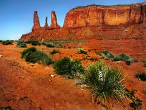 Monument Valley Navajo Tribal Park,  Arizona Royalty Free Stock Images