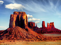 Monument Valley, Navajo Tribal Park Royalty Free Stock Photos